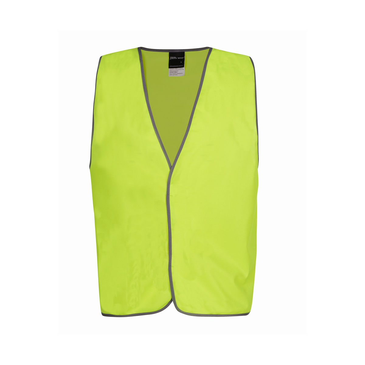 Hi Vis Safety Vest Visitor-Lime
