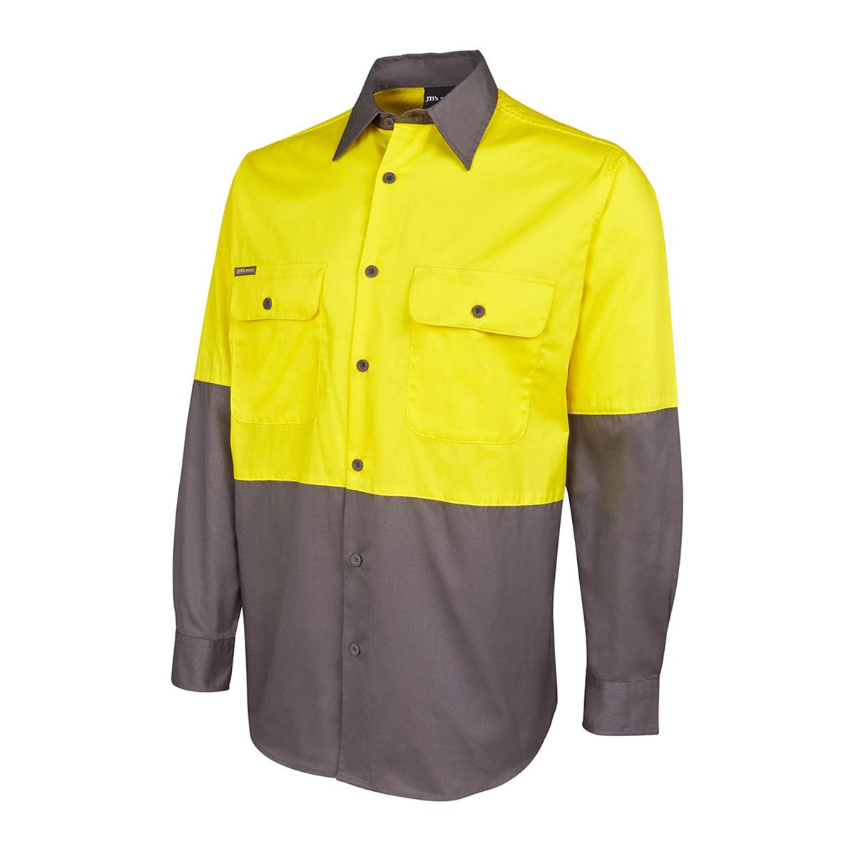 Hi Vis L/S 150G Shirt