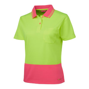 Ladies Hi Vis S/S Comfort | JB's LADIES HV S/S COMFORT POLO