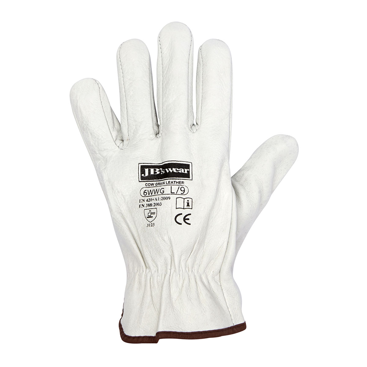 Rigger Glove Natural S - 12 Pack