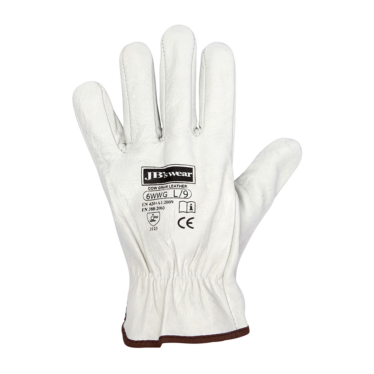 Rigger Glove Natural S – 12 Pack-Natural
