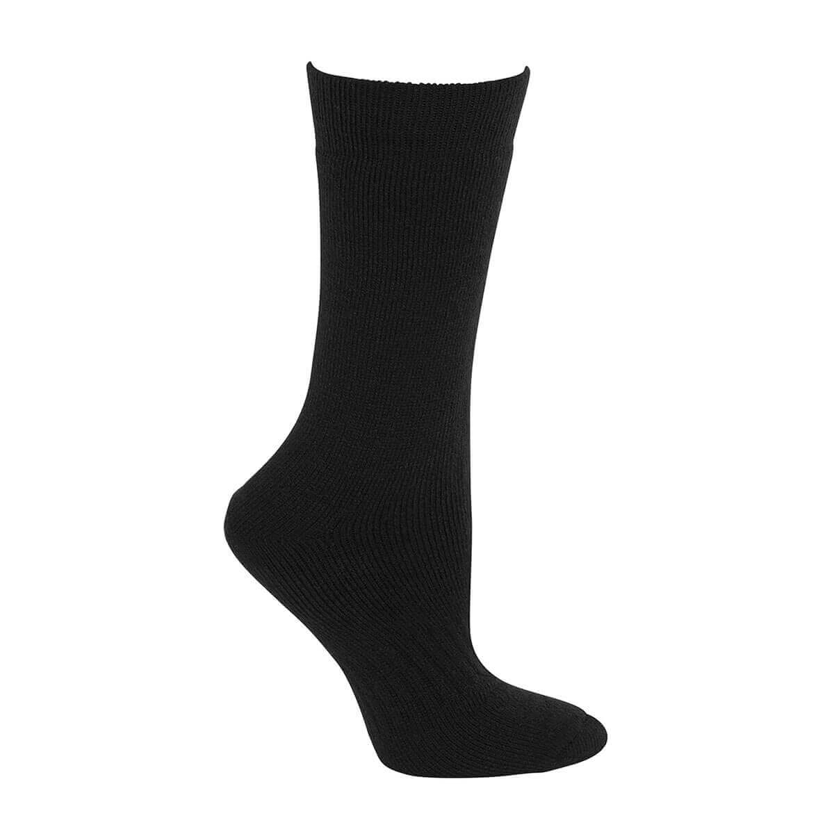 Acrylic Work Sock-Black