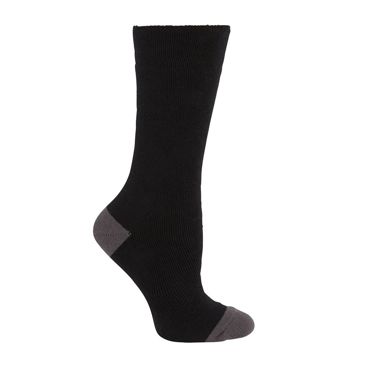 Work Sock (3 Pack)-Black  /  Grey