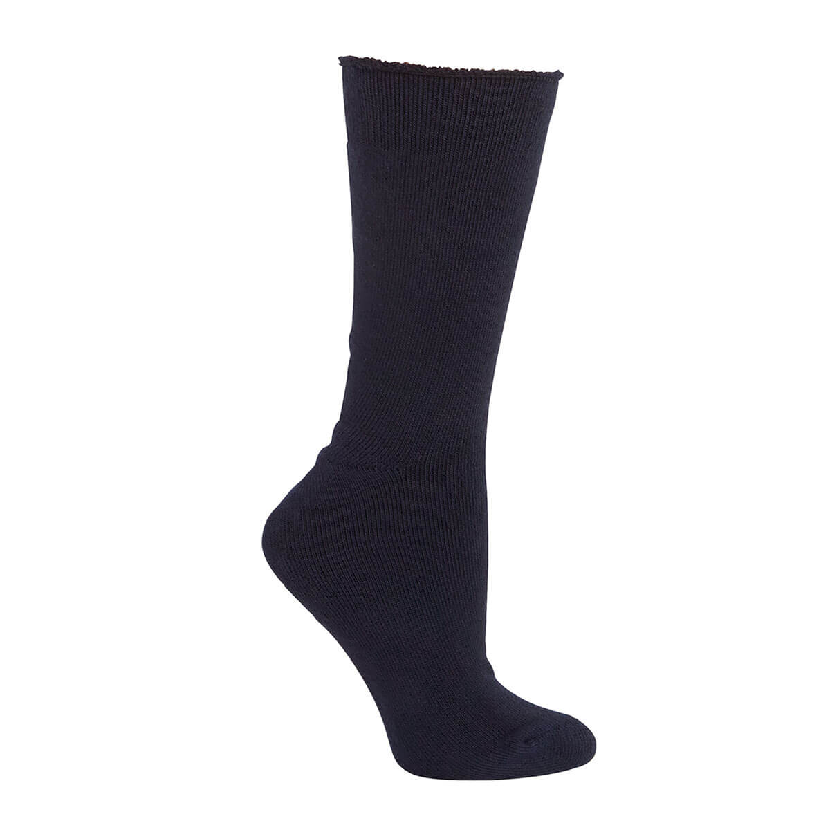 Bamboo Work Sock-Navy