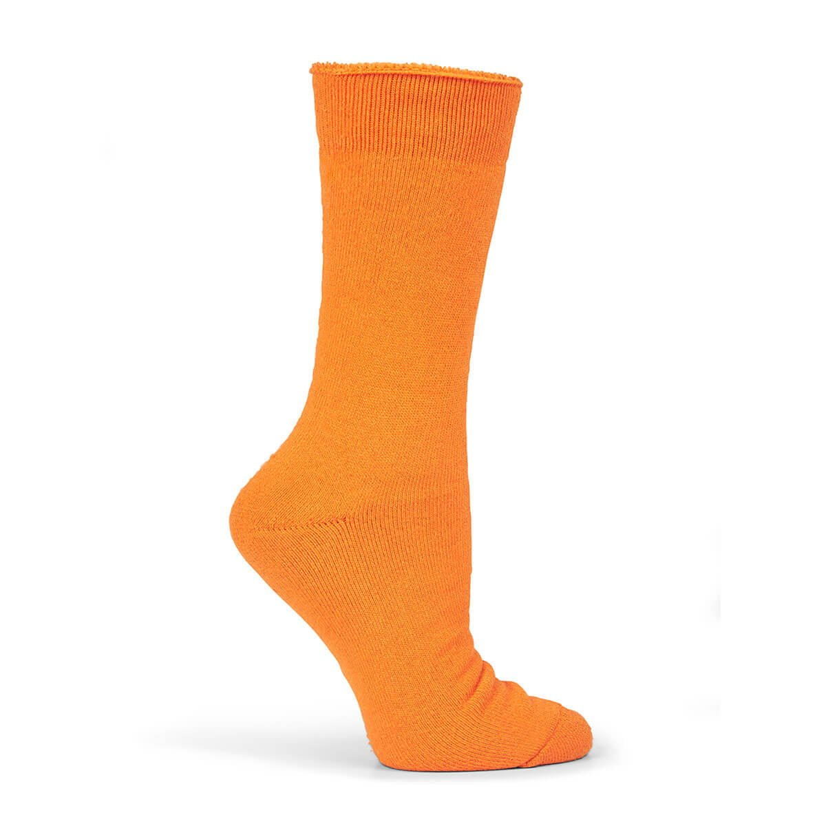 Bamboo Work Sock-Orange