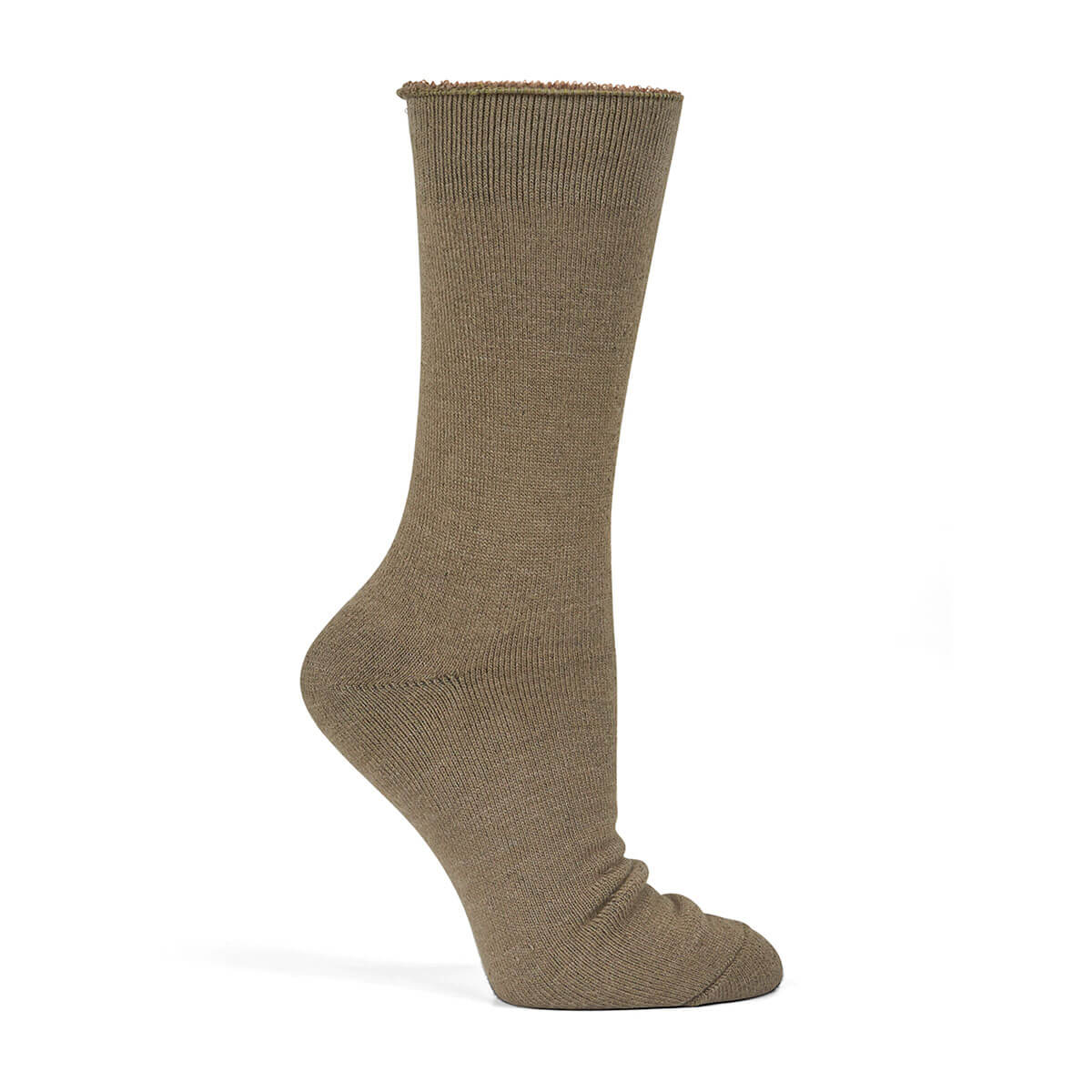 Bamboo Work Sock-Olive
