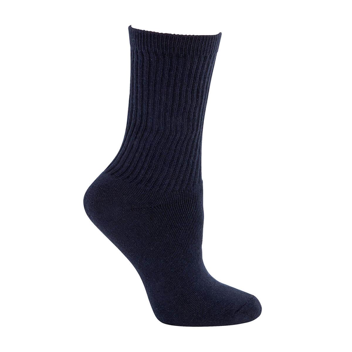 Everyday Sock (2 Pack)-Navy