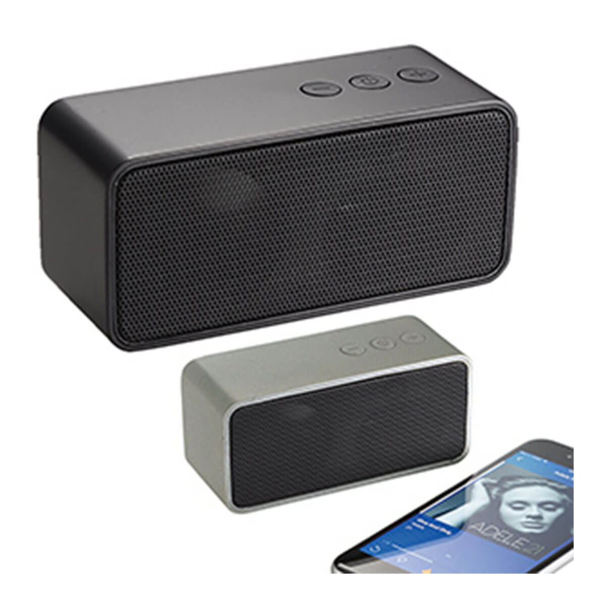 Bluetooth Speaker-Silver