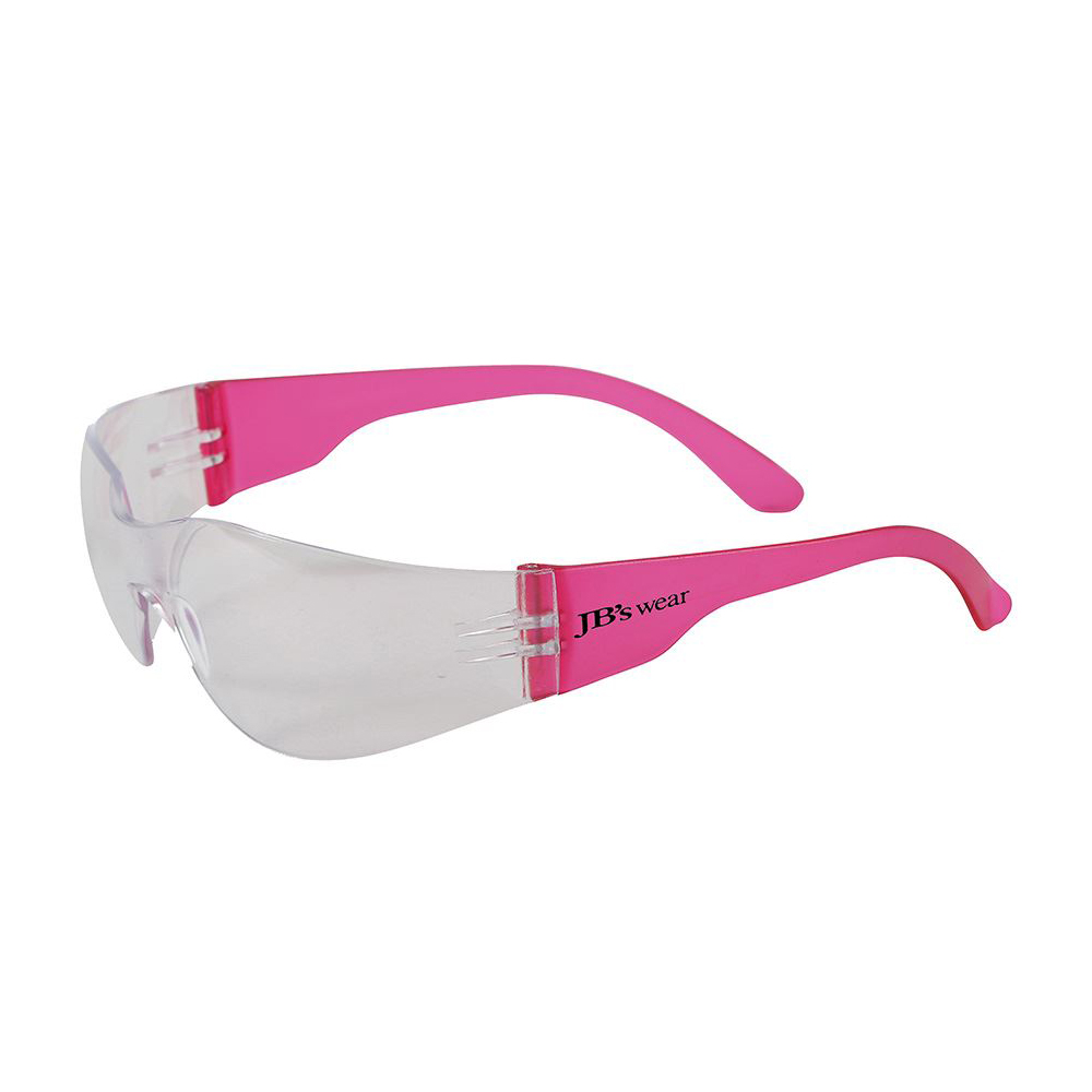EYE SAVER SPEC 1337.1 (12 PK)-Hot Pink/Clear