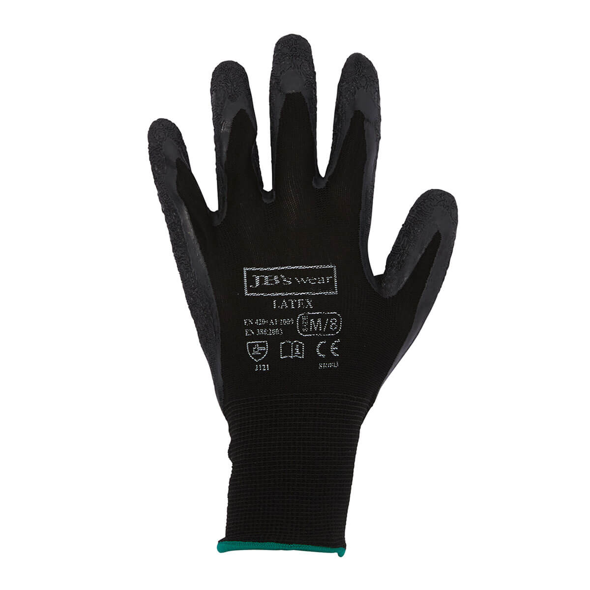 Black Latex Glove-Black