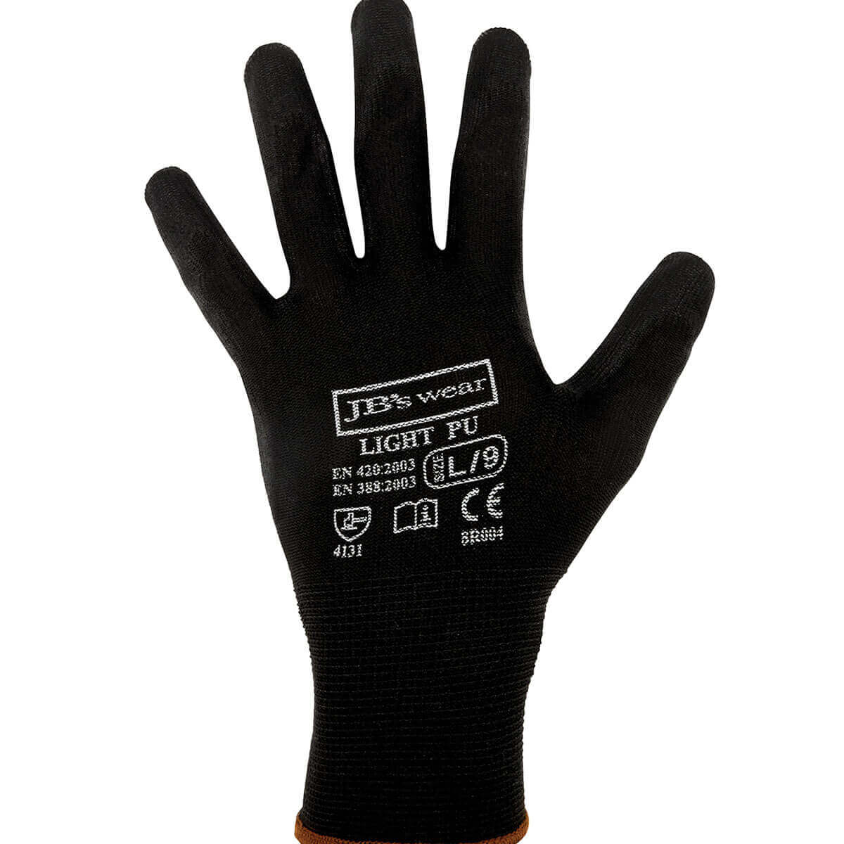 Black Light Pu Glove