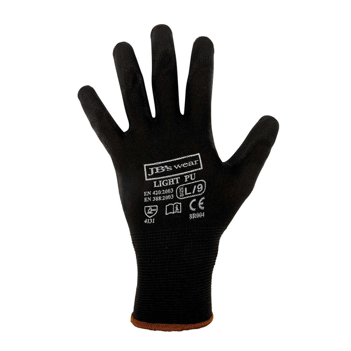 Black Light Pu Glove-Black