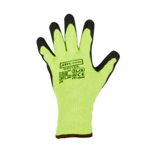 Winter Glove Lime/Black