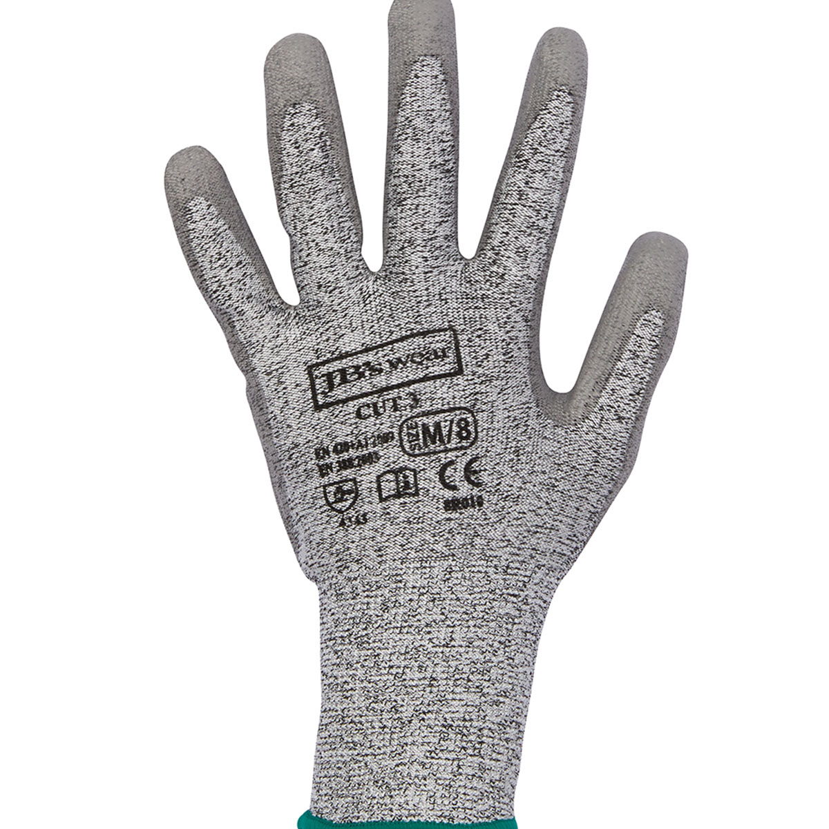 Cut 3 Glove Grey-Grey