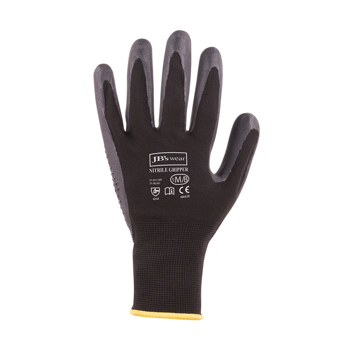 Nitrile Gripper Glove Black