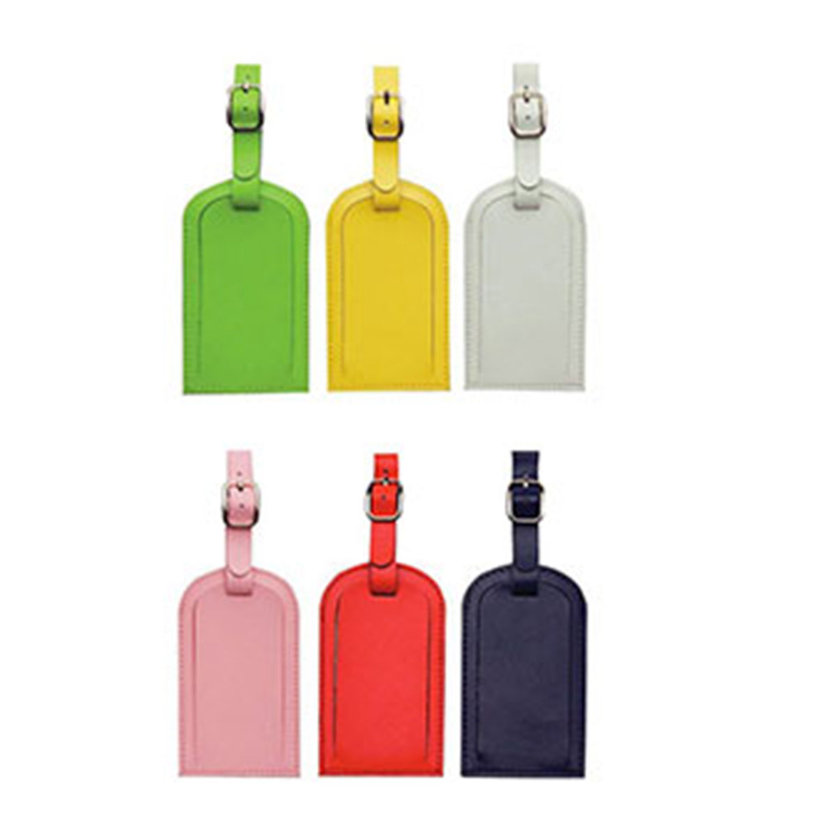 Coloured Luggage Tag-Red.