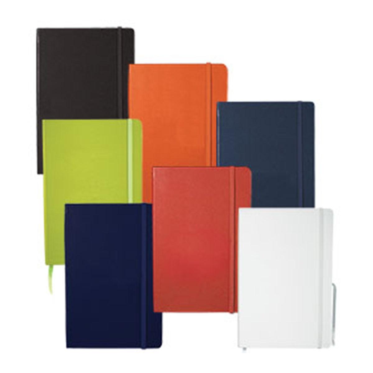 Ambassador Bound JournalBook-Blue with blue elastic.