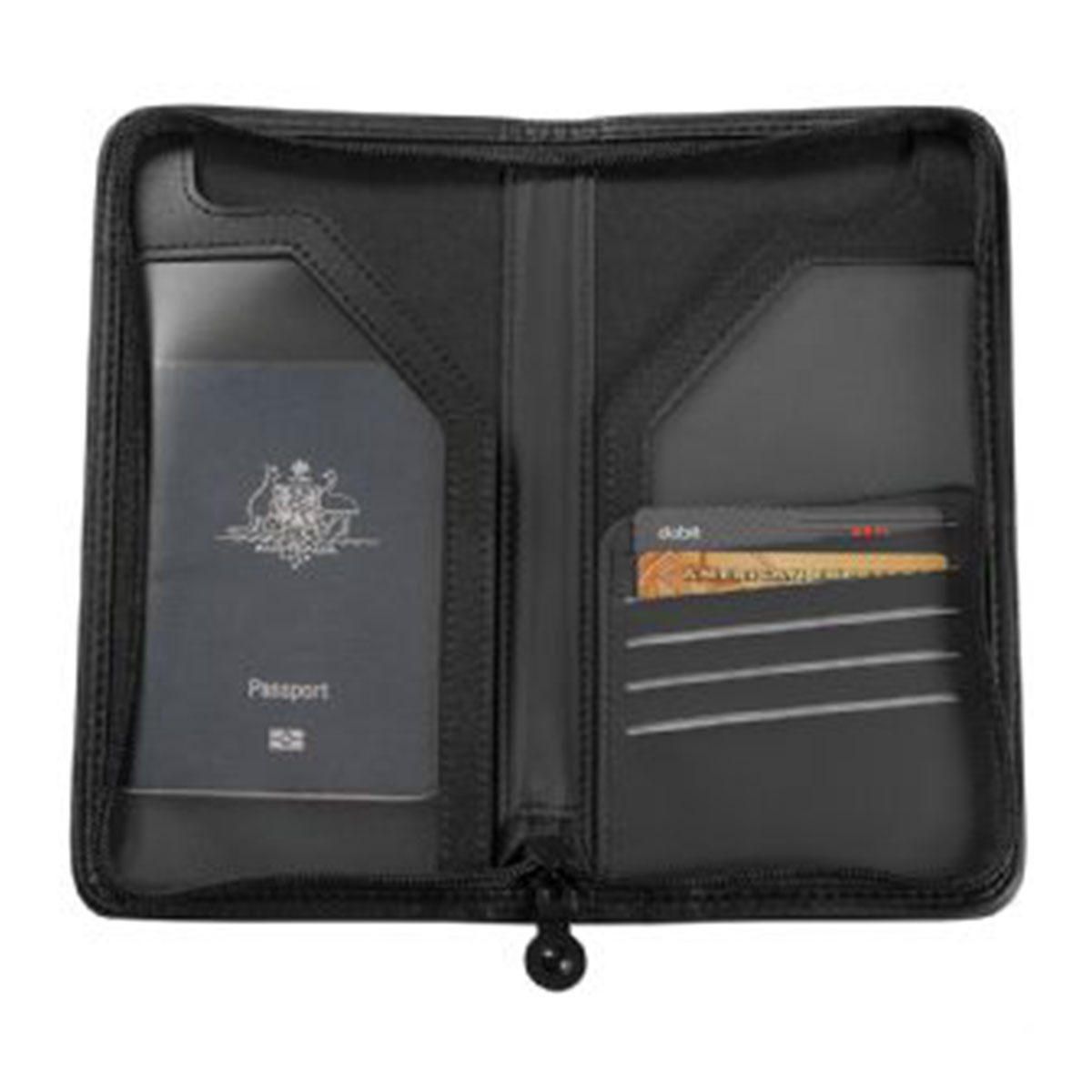 Travel Wallet-Black