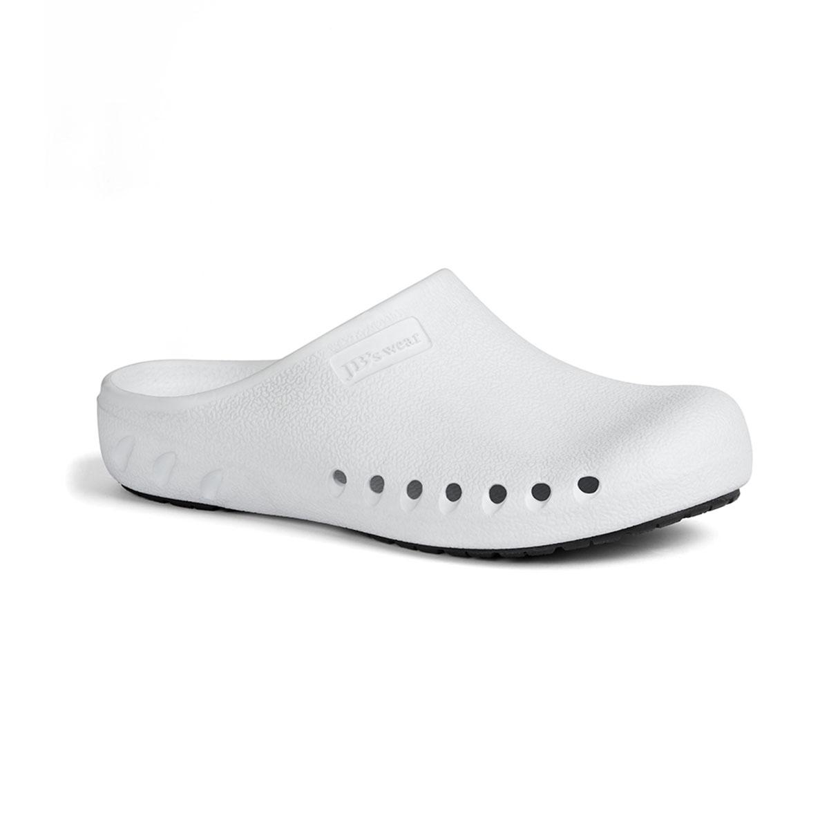 Slip Resistance Clog-White