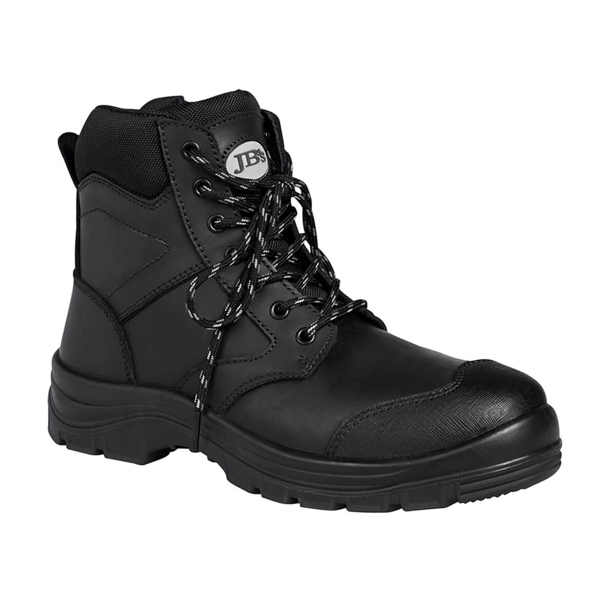 5″ Zip Boot-Black