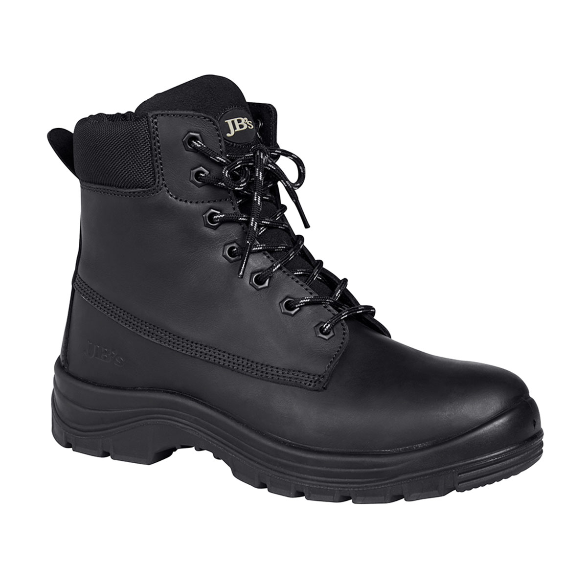 Lace Up Outdoor Boot-Black