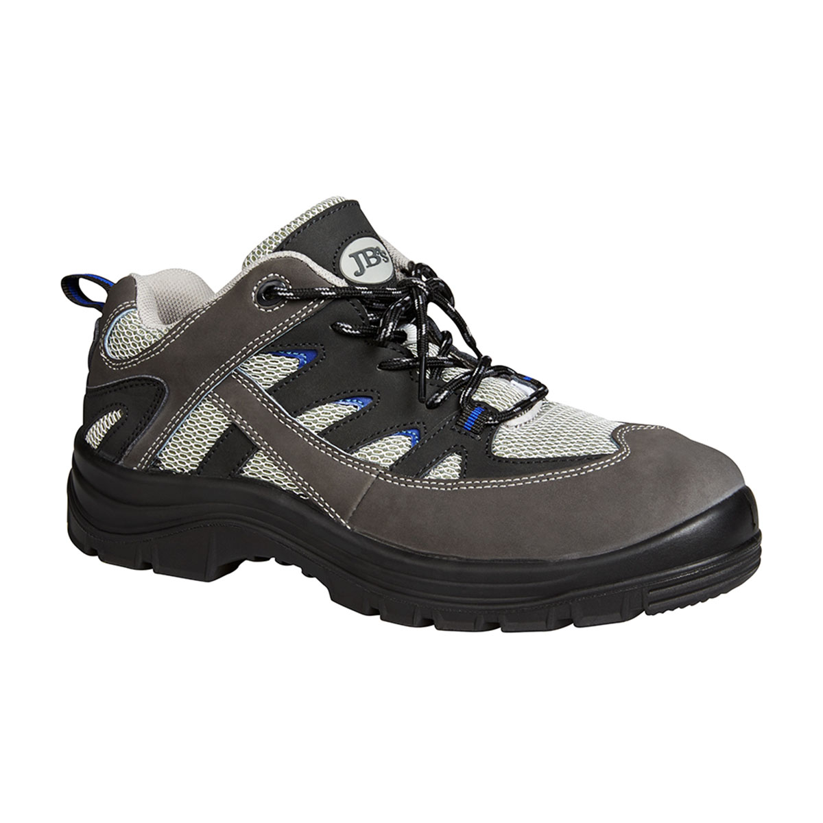 Safety Sport Shoe-Black  /  Royal