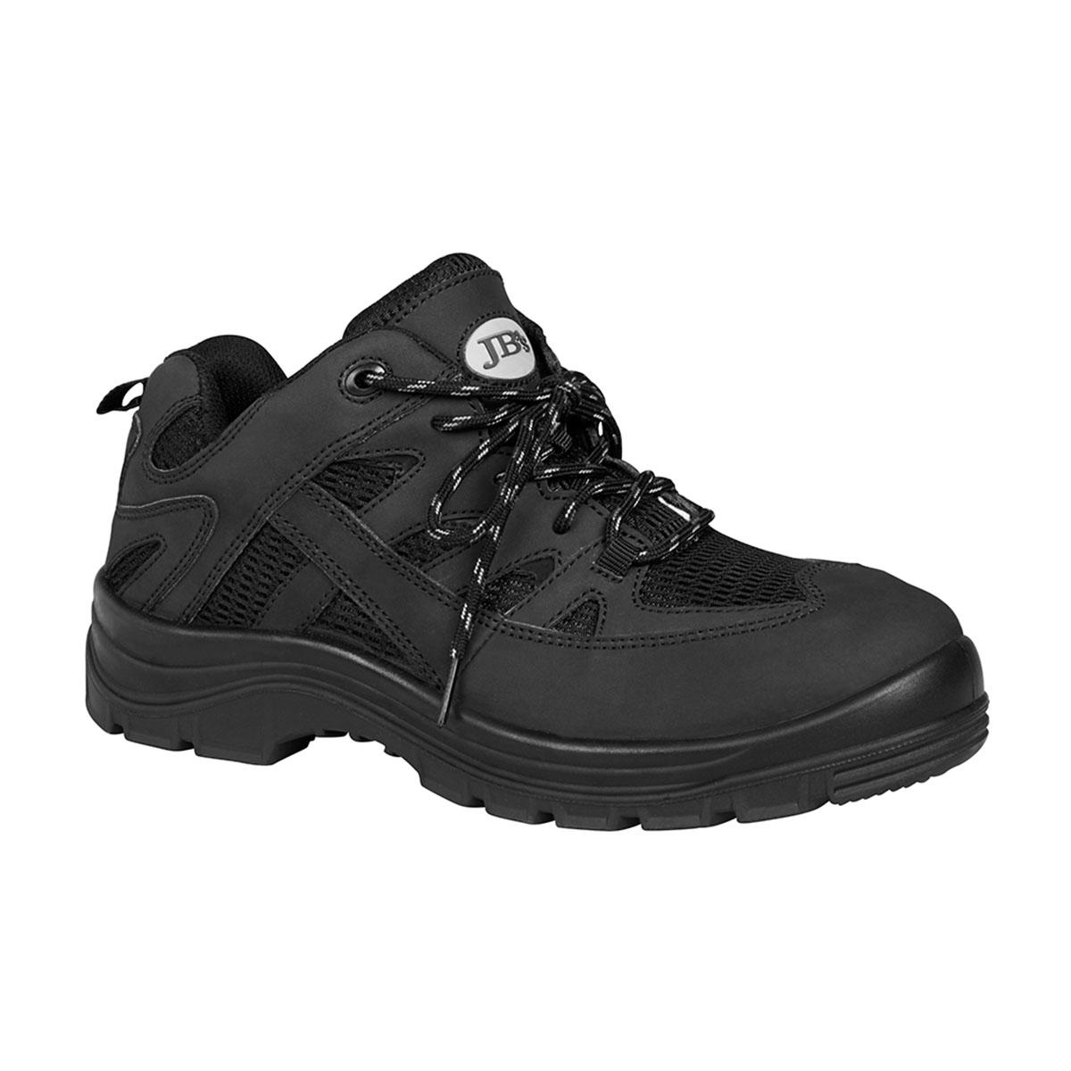 Safety Sport Shoe-Black  /  Black