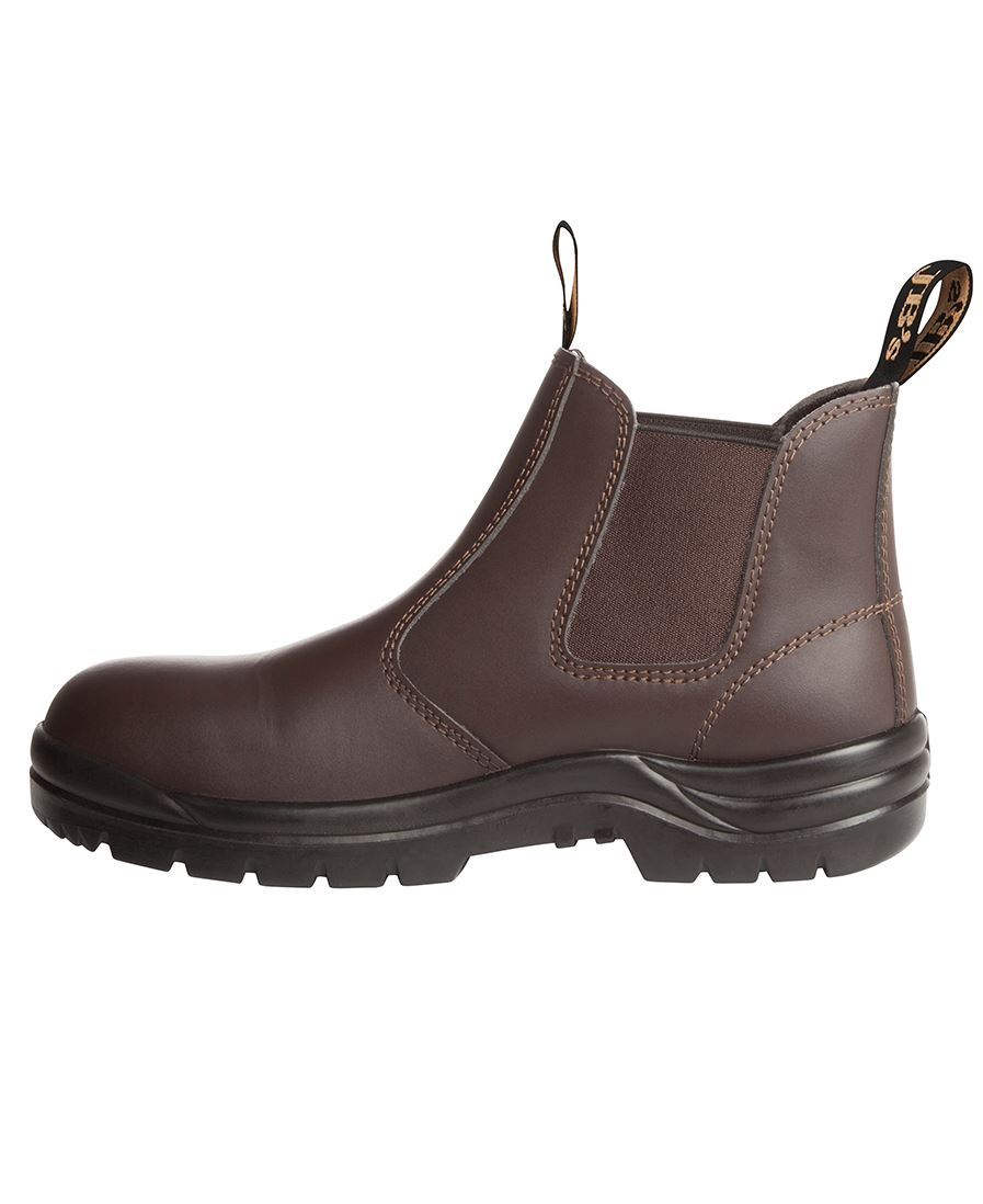 TRADITIONAL SOFT TOE BOOT-Brown