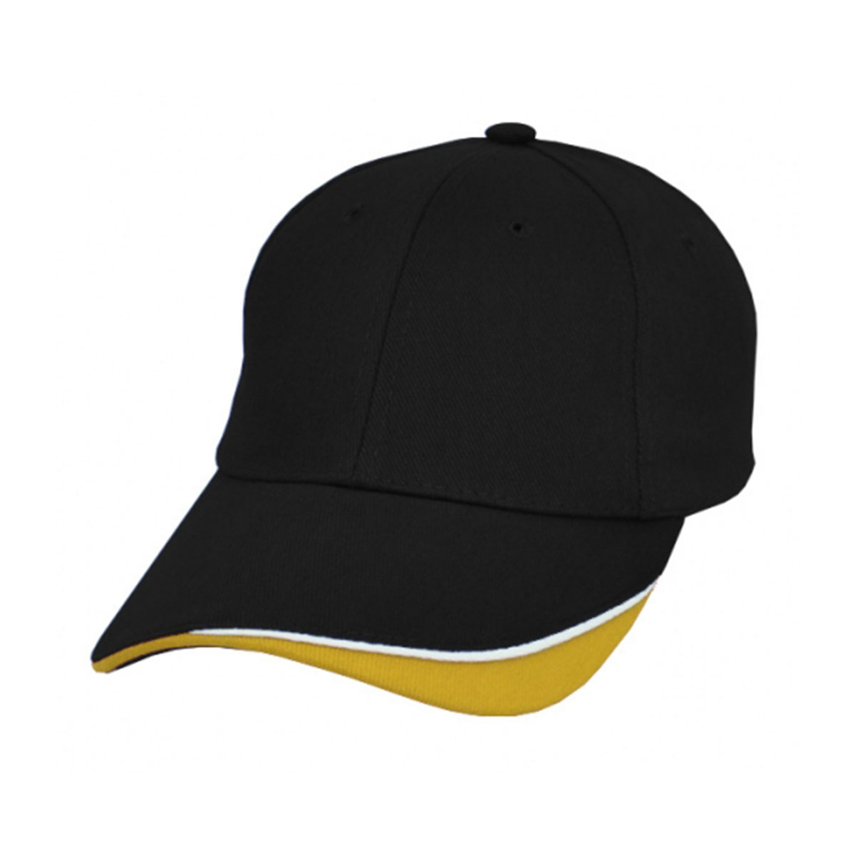 Razor Cap-Black / White / Gold