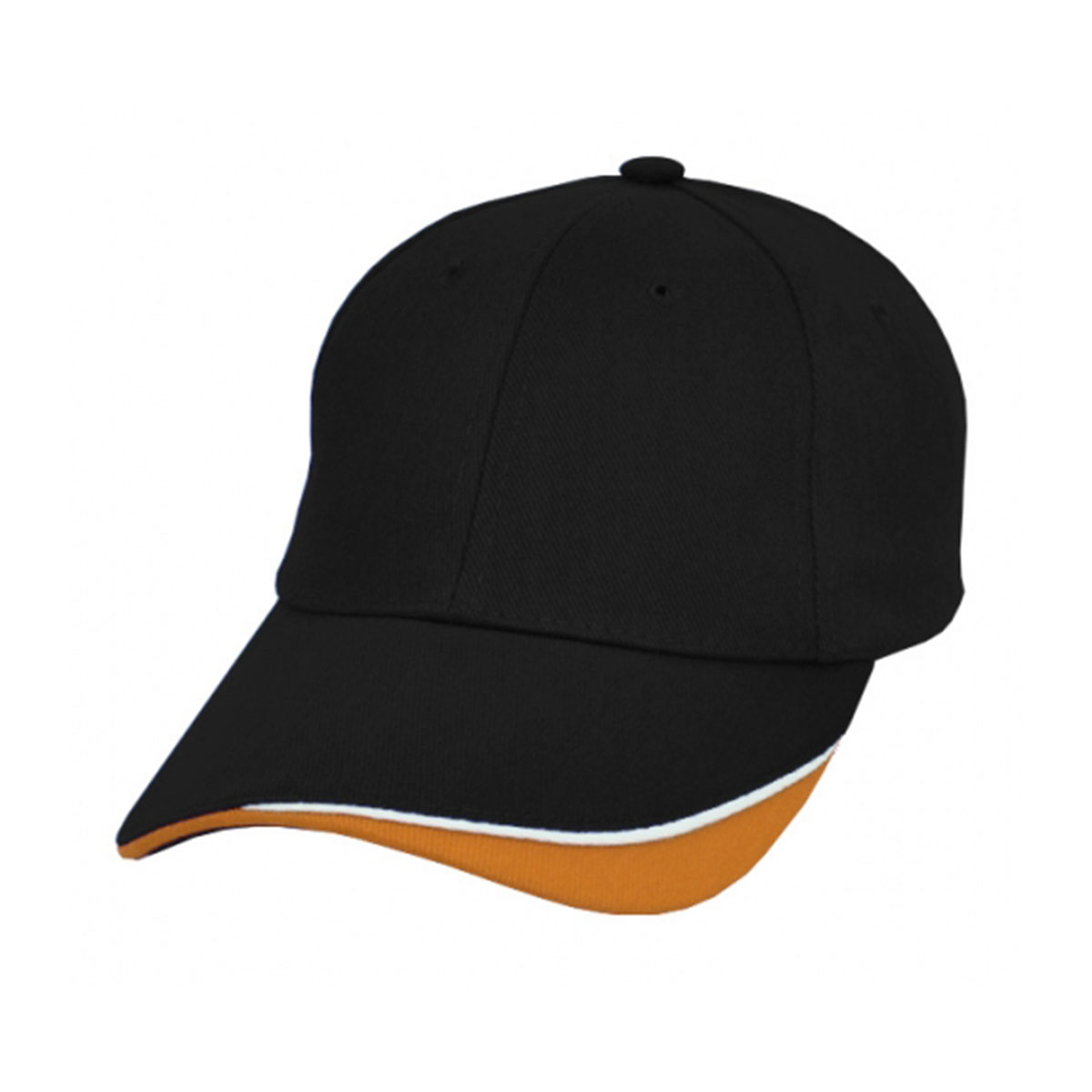 Razor Cap-Black / White / Orange
