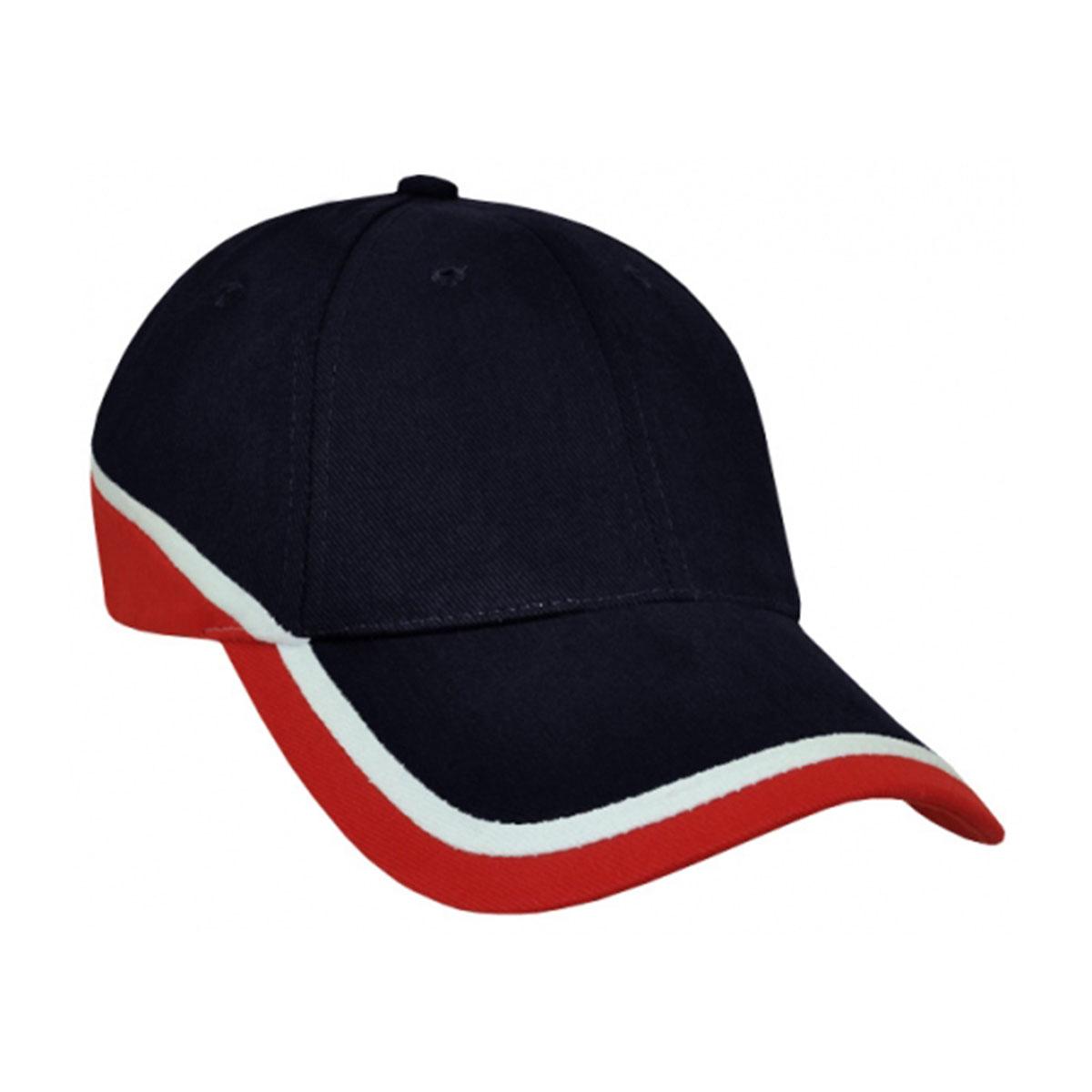 Mountain Cap-Navy / White / Red