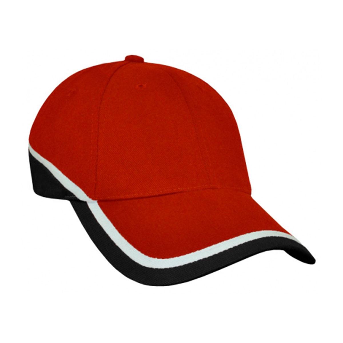 Mountain Cap-Red / White / Black
