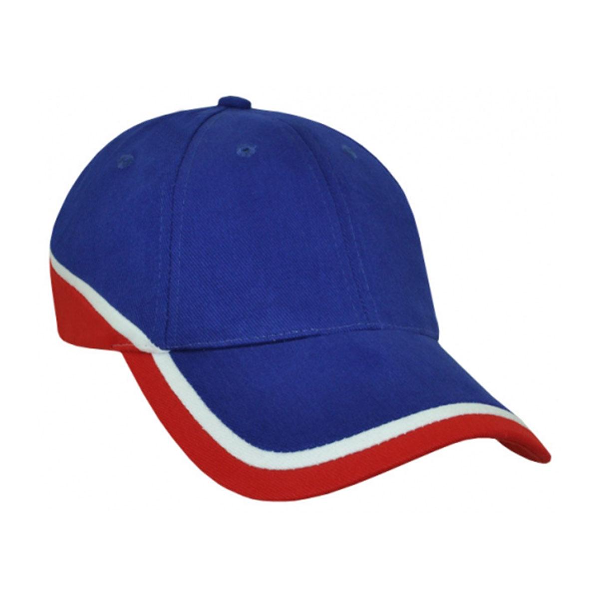 Mountain Cap-Royal / White / Red