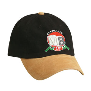Unstructured HBC Suede Peak Cap