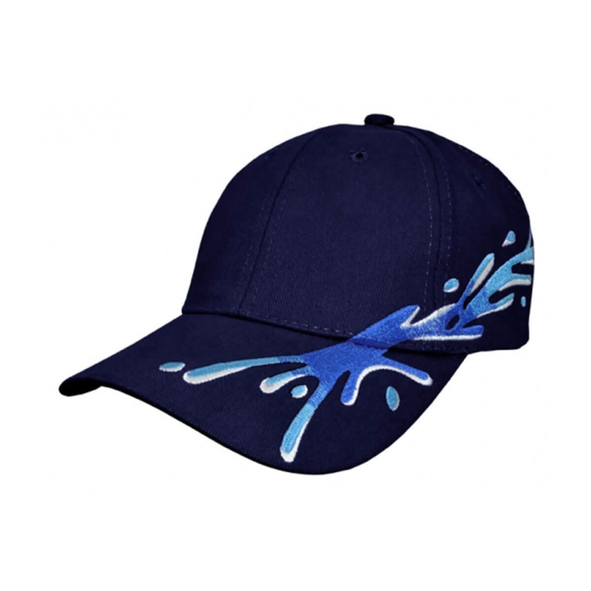 Splash Cap-Navy / Royal / Sky / White