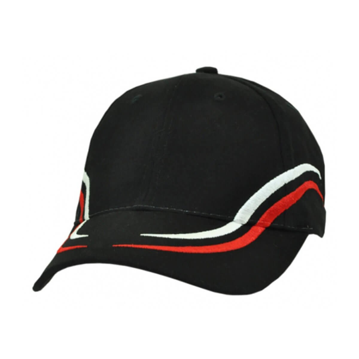 Langdon Cap-Black / White / Red