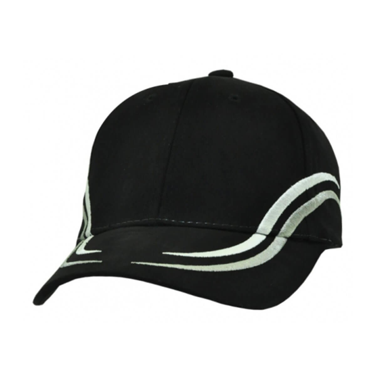 Langdon Cap-Black / White / Grey