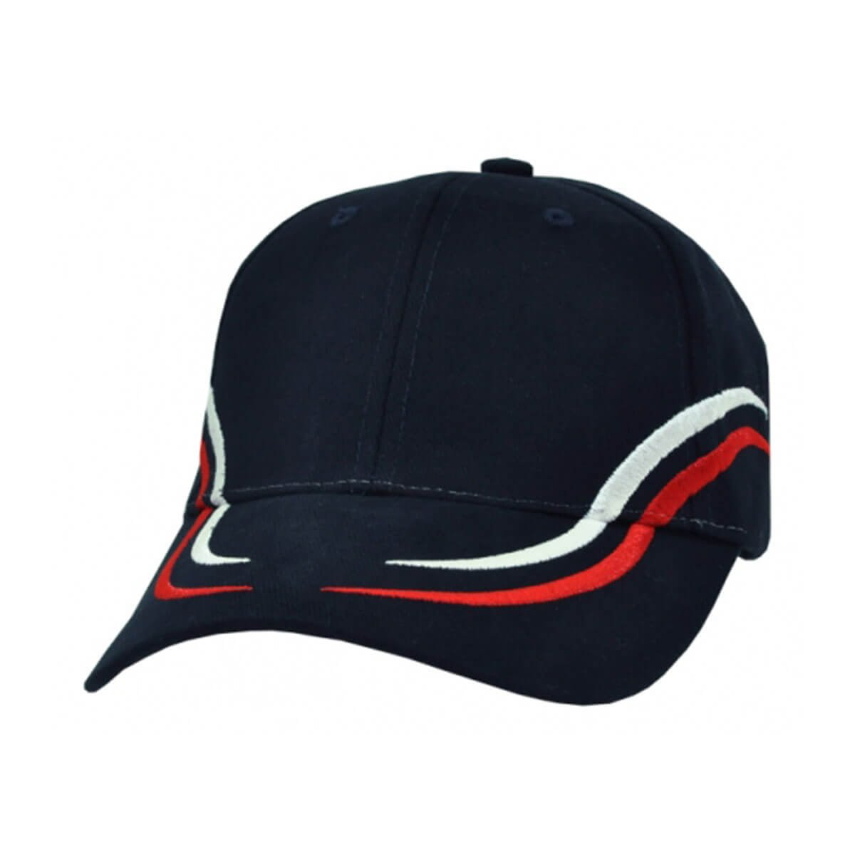 Langdon Cap-Navy / White / Red