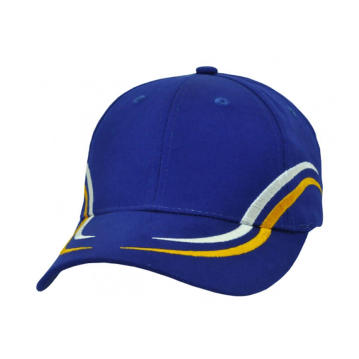 Langdon Cap-Royal / White / Aussie Gold
