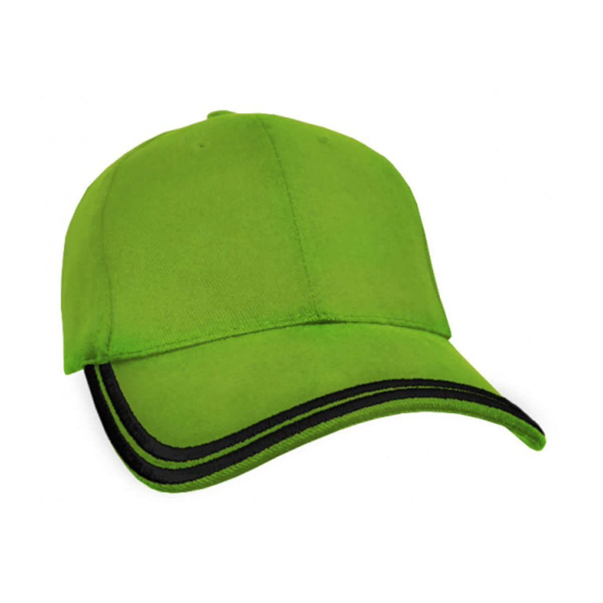 HBC Double Piping Cap-Lime / Black