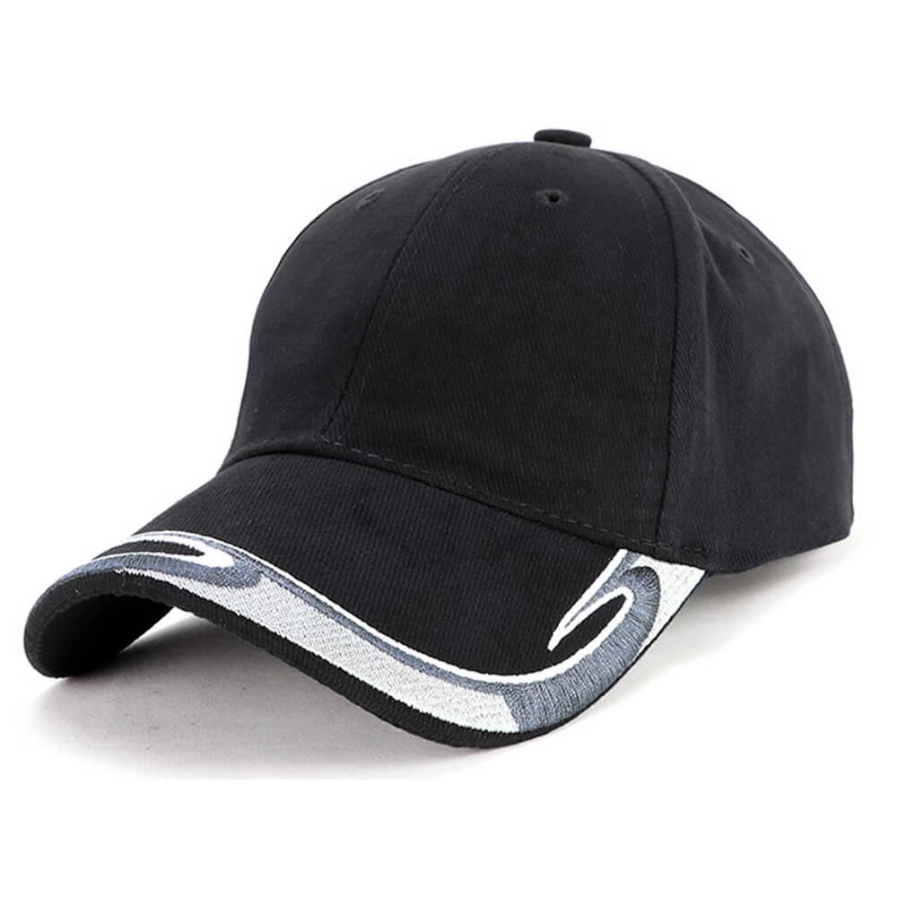 Global Cap-Black / White / Charcoal / Silver