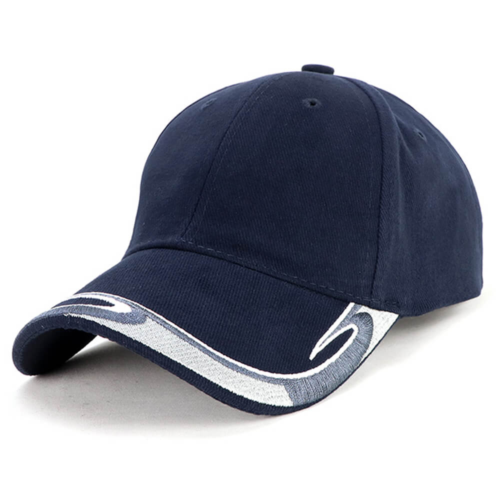 Global Cap-Navy / White / Charcoal / Silver