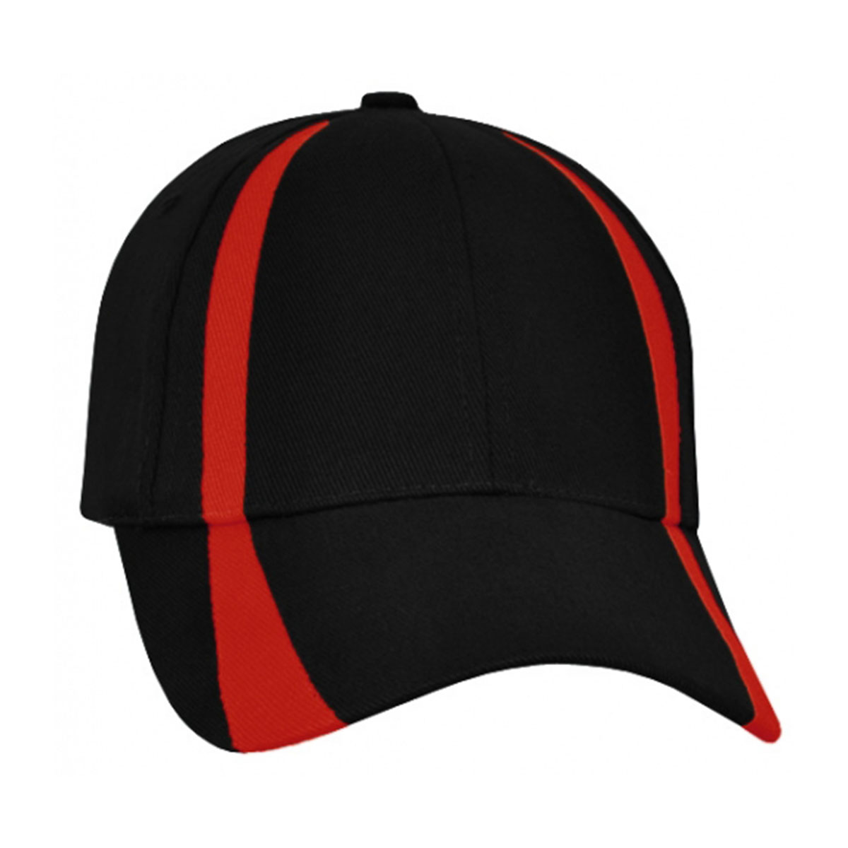 Madison Cap-Black / Red