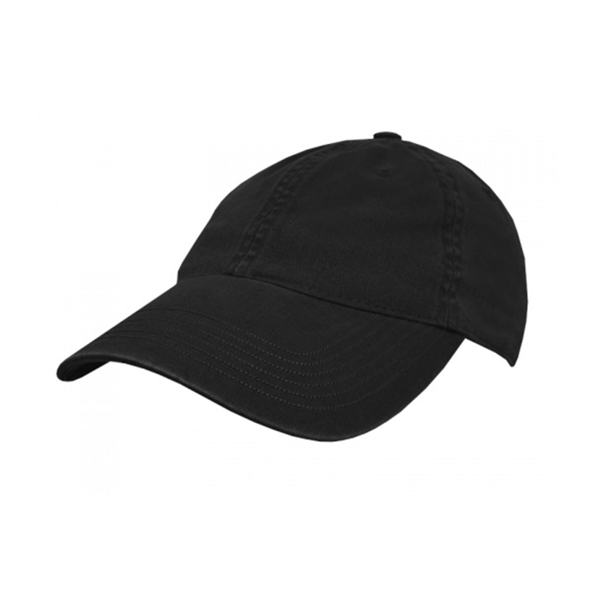 Enzyme Washed Cap-Black
