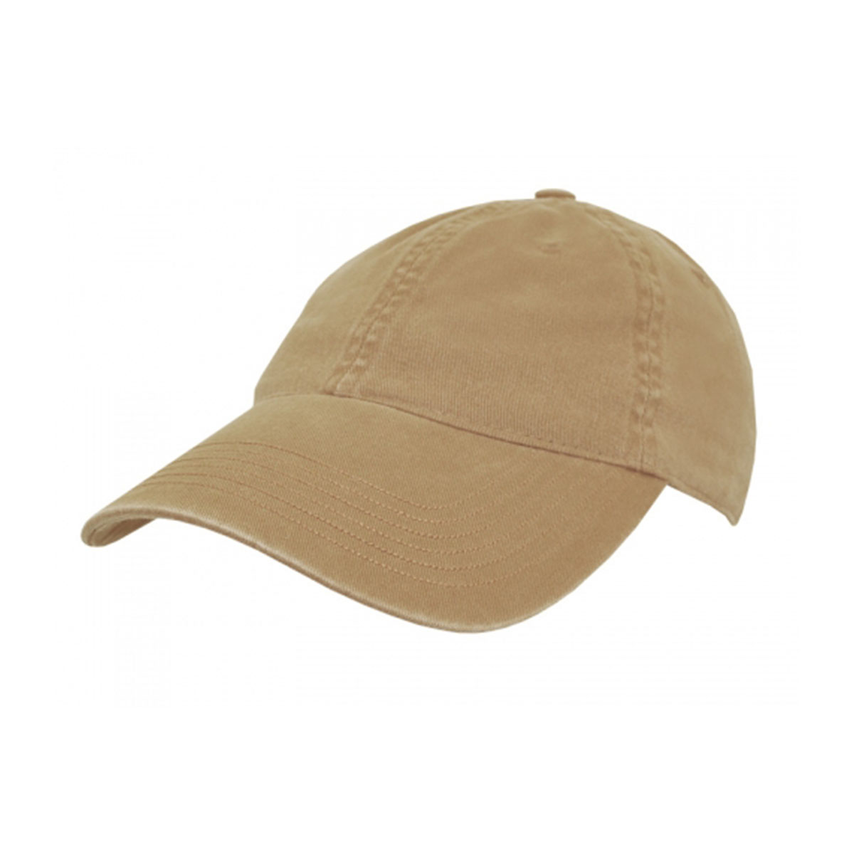 Enzyme Washed Cap-Khaki