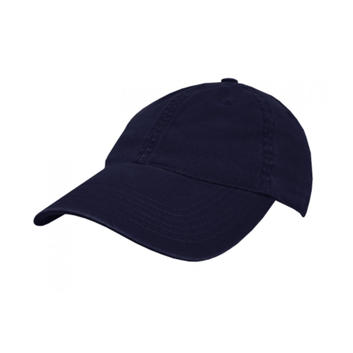 Enzyme Washed Cap-Navy