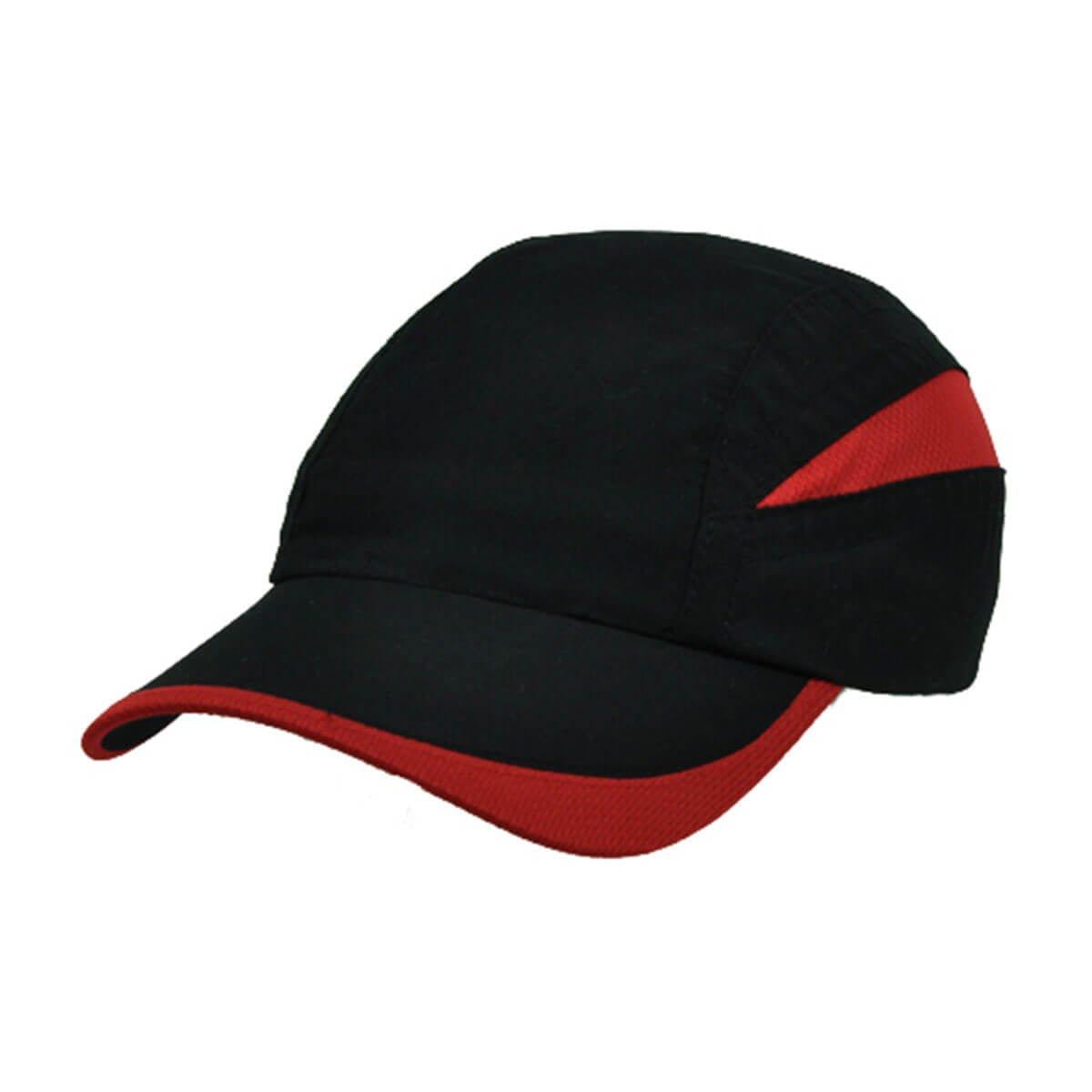 Summit Cap-Black / Red