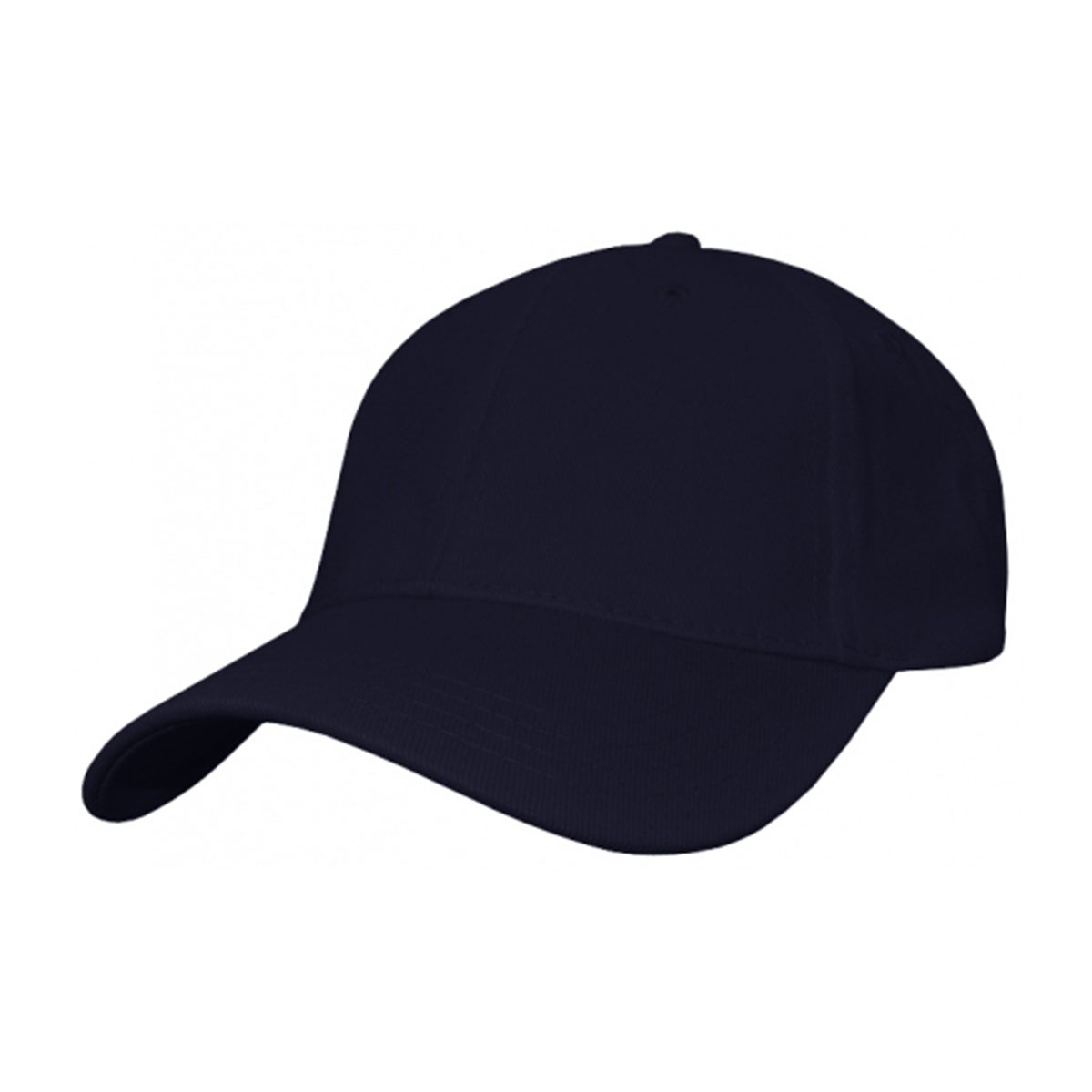Heavy Cotton Spandex Fitted Cap-Navy