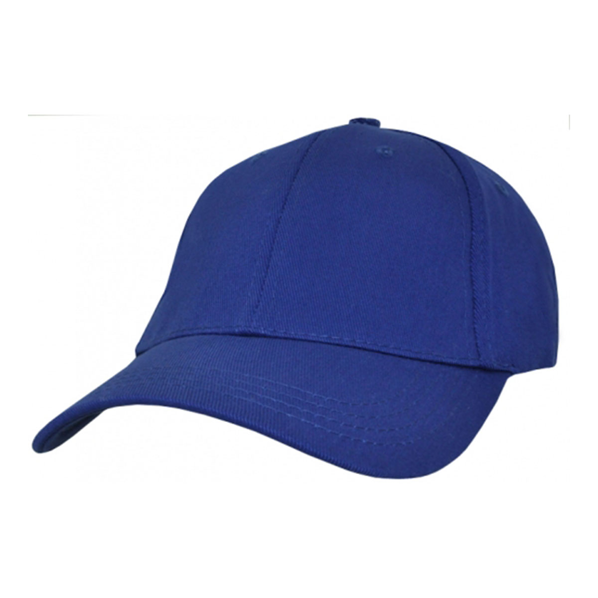 Heavy Cotton Spandex Fitted Cap-Royal