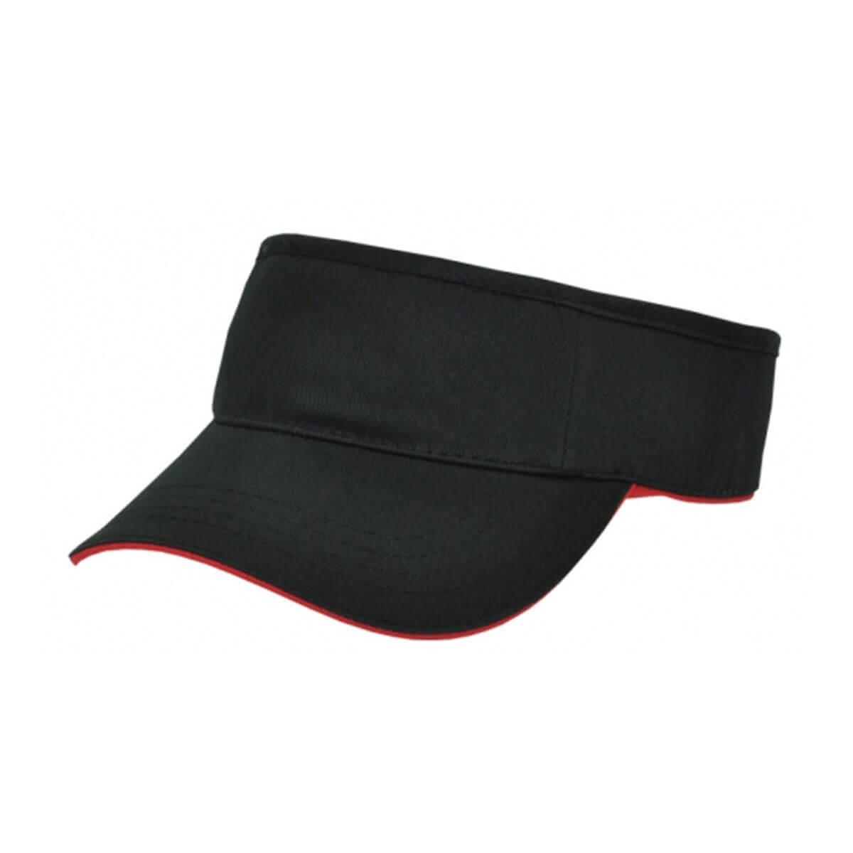 Visor-Black / Red